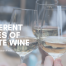 The Different Types of White Wine Cover